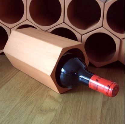 Picture of Individual Terracotta Wine Rack Section