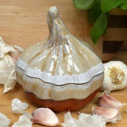 Picture of Garlic Roaster - Mushroom Glaze