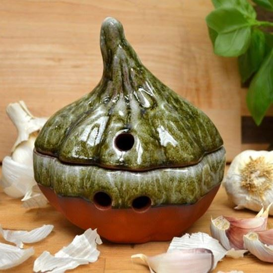 Picture of Garlic Keeper - Apple Glaze