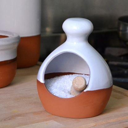 Picture of Salt Piglet - White Glaze