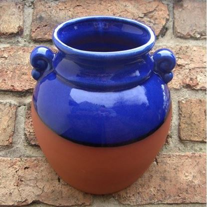 Picture of Hanging Urn Wall Pot (Blue)