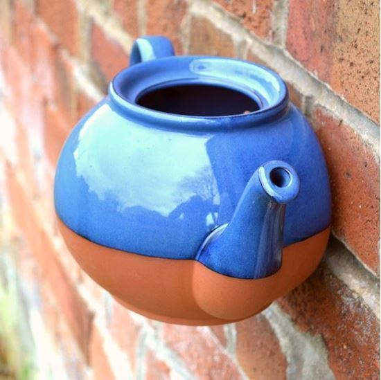 Picture of Teapot Wall Pot (Blue)