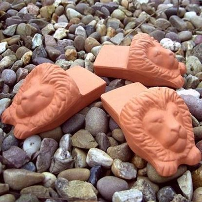 Picture of Lions Head Pot Feet (set of 3)