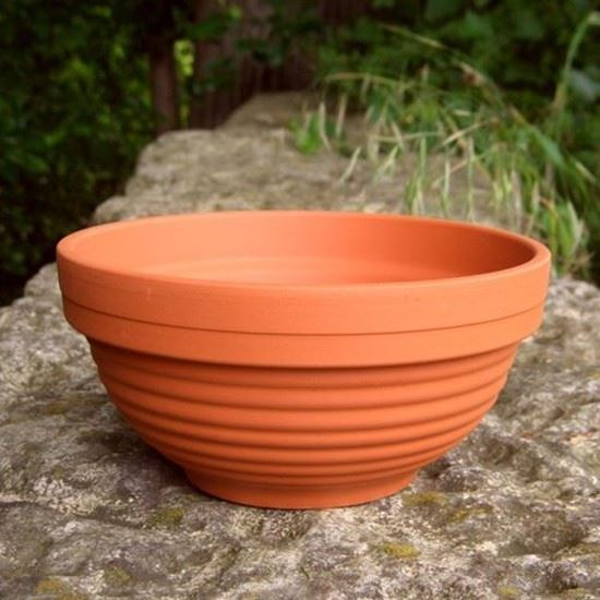 Picture of Ribbed Bowl (16cm dia) - Pk 5