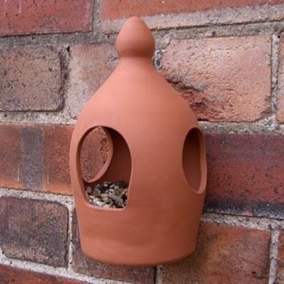 Picture of 3-Port Wall Bird Feeder