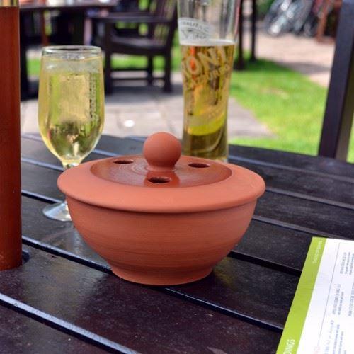 Outdoor Pub Ashtray Weston Mill Pottery Uk