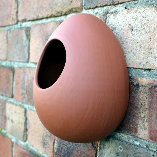 Picture of Egg Wall Bird Feeder