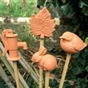 Picture of  Mixed Cane Toppers (Set of 4)