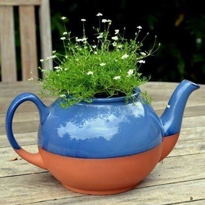 Picture of Teapot Planter Large - Glazed
