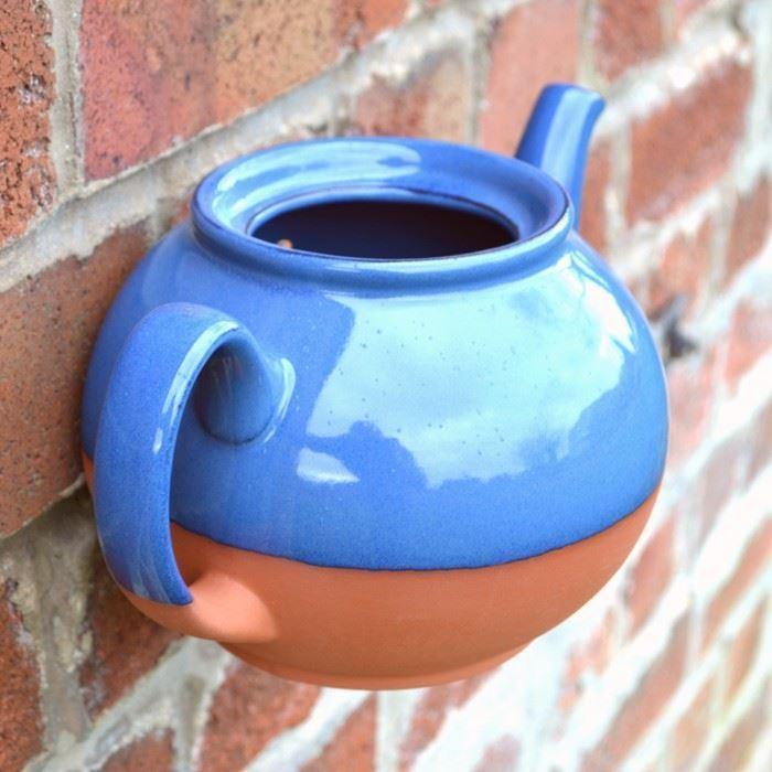 Teapot Wall Pot (Terracotta) | Weston Mill Pottery UK