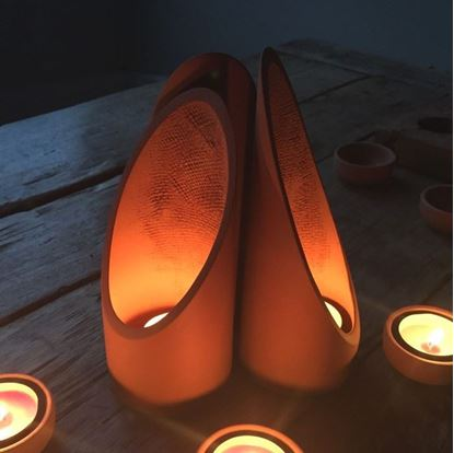 Picture of Terracotta Tealight Shade