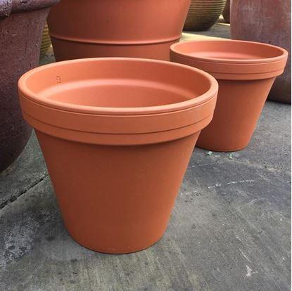 Picture of Terracotta Plant Pot - F22  (22cm dia)